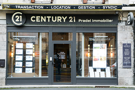 Agence immobilière CENTURY 21 Pradel Immobilier, 15000 AURILLAC
